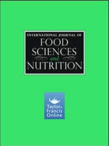 GE.FO. nutrition Srl: INTERNATIONAL JOURNAL OF FOOD SCIENCES AND NUTRITION