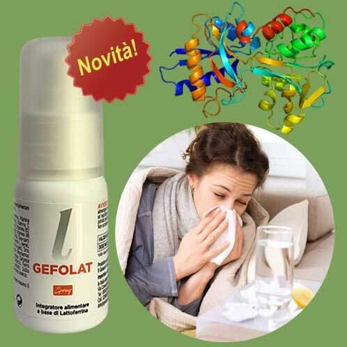 GE.FO. nutrition Srl: Gefolat Spray da 30 ml